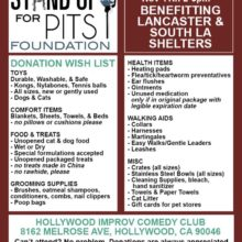 HOLLYWOOD!! LETS HELP SHELTER ANIMALS!