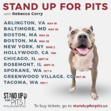 2019 Stand Up For Pits tour is here!!!