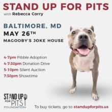 SUFP IS COMING TO BALTIMORE TO STAND UP FOR PITS!