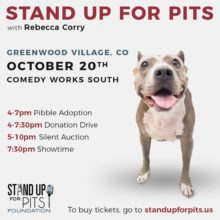 Stand Up For Pits is coming to COLORADO!!!