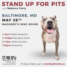 BALTIMORE STAND UP FOR PITS HAPPENS SOON!!!